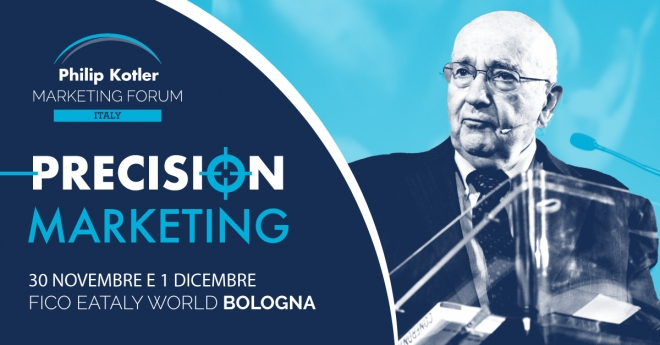 Gestalt Eventi partner tecnico del più grande evento di marketing strategico in Italia: il Philip Kotler Marketing Forum 2018
